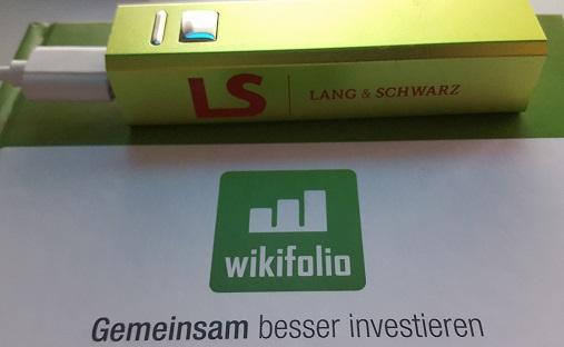 Wikifolio and LS - photo for letYourMoneyGrow.com
